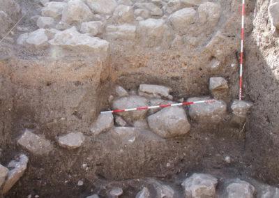 Grd-i Tle ásatás objektumok, az erőd (SNR-127)