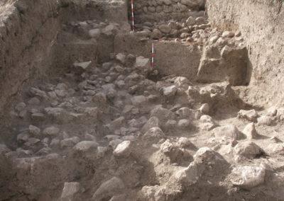 Grd-i Tle ásatás objektumok, az erőd (SNR-131)