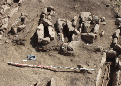 Grd-i Tle ásatás, temetkezések áttekintő képe 3
