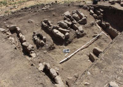 Grd-i Tle ásatás, temetkezések áttekintő képe 2