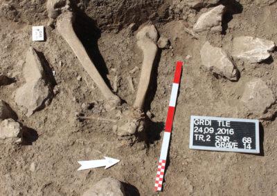 Grd-i Tle ásatás, temetkezések – 14. sír