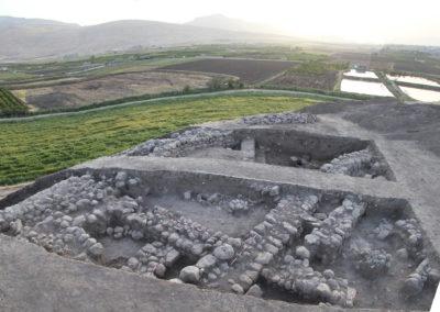 Grd-i Tle ásatás, a település feltárási képe 1