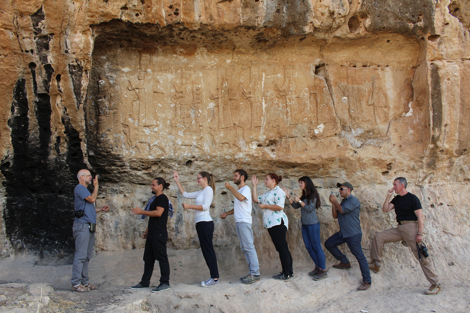 Az ELTE régészeti expedíciója iraki Kurdisztánban: Bavian, Lalish, Maltai, Jerwan